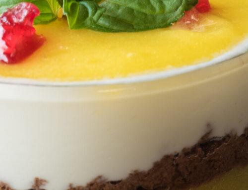 Cremoso de yogur y mascarpone